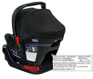 car seat recalls