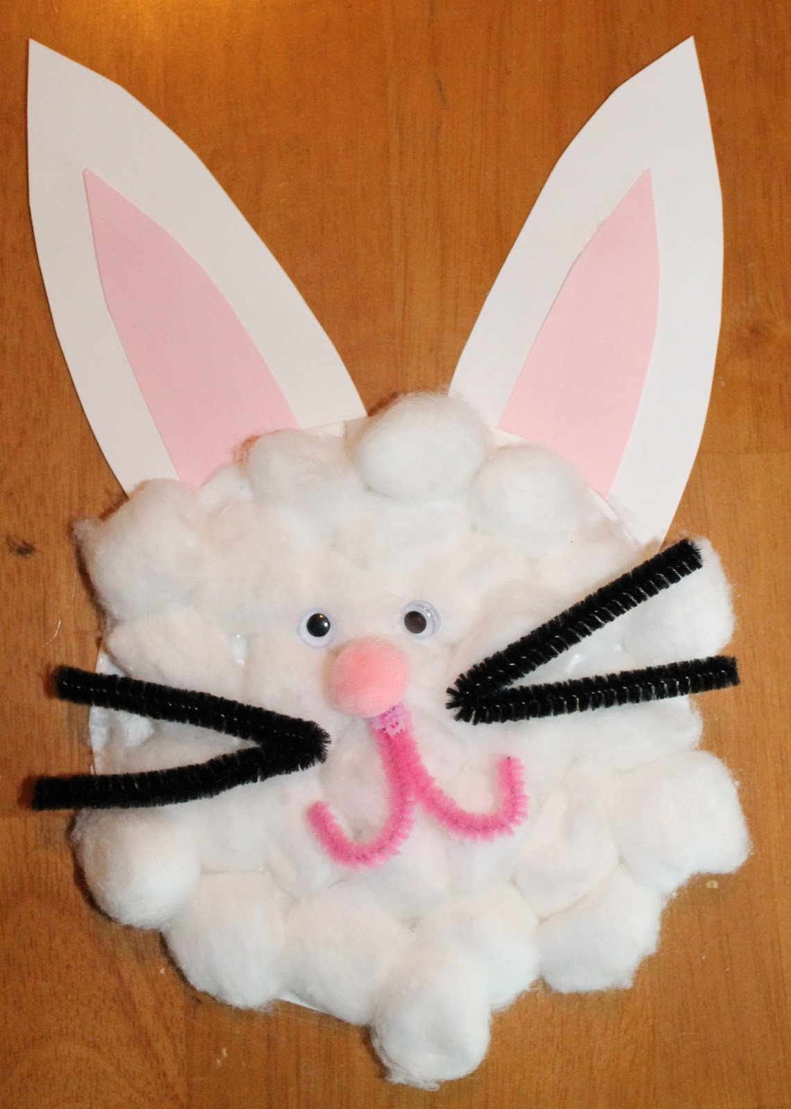 Paper Plate Bunny Craft - Paper Crafts Ideas for Kids
