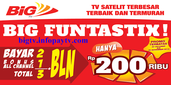 Promo BIG TV FUNTASTIX!