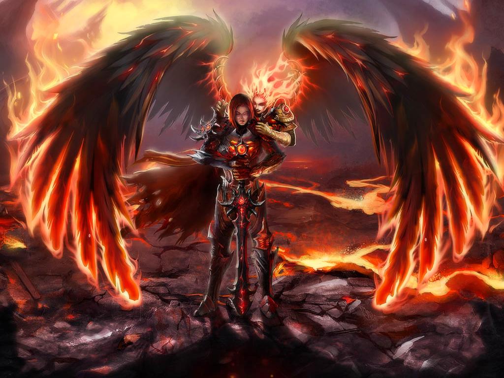 September 2012 angel background wallpapers - Fantasy wallpaper hd ...
