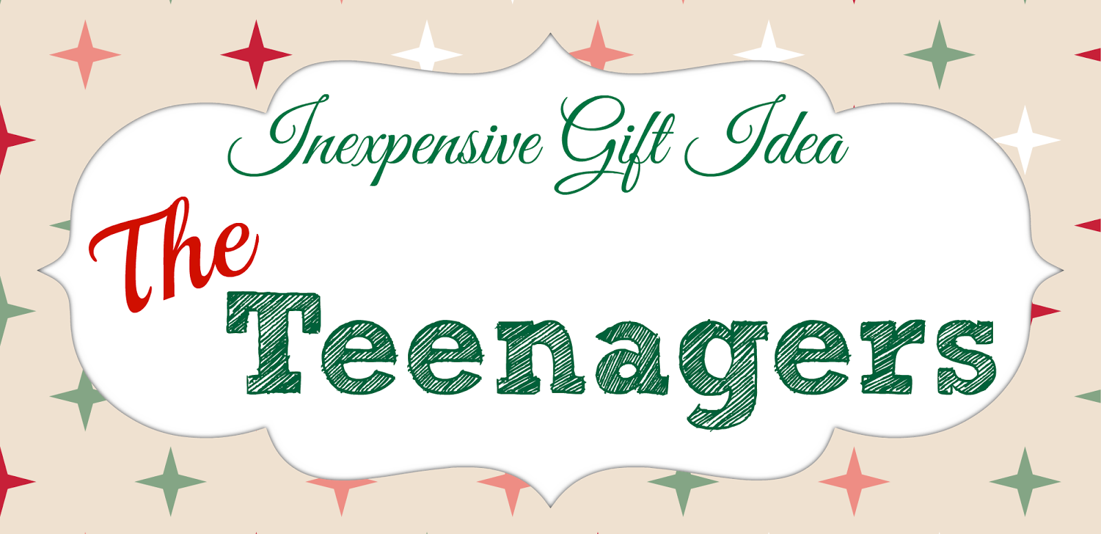 Orchard Girls: Inexpensive Christmas Gifts: For The Whole