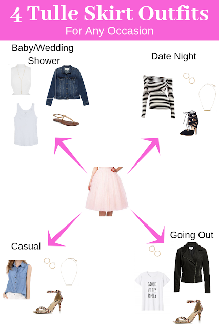 What to wear with a tulle skirt