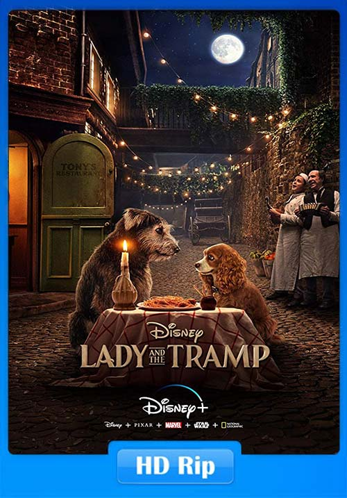 Lady And The Tramp 2019 720p WEBRip x264 | 480p 300MB | 100MB HEVC Poster