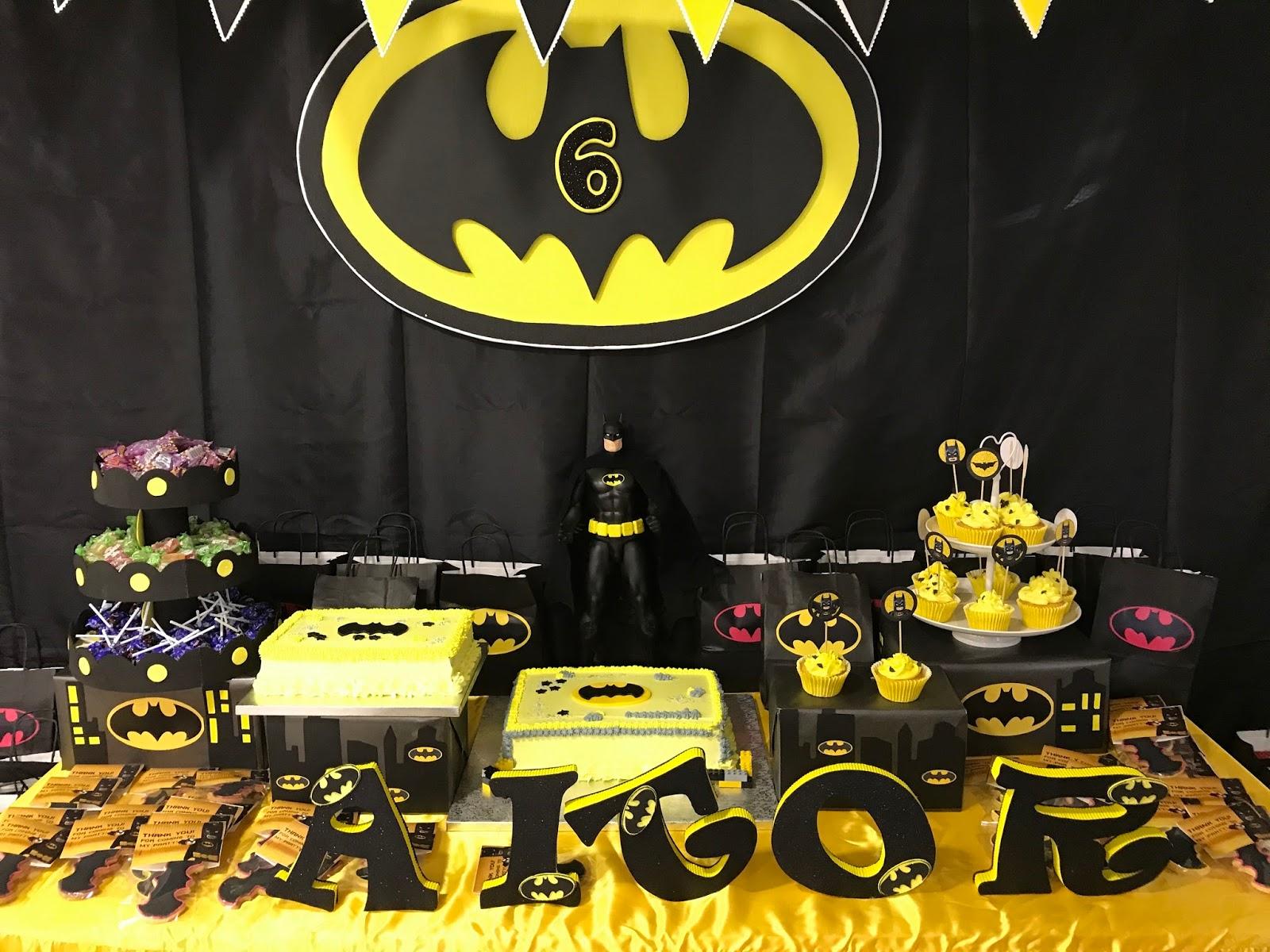Decoracion Fiesta Batman Solo Otra Idea De Decoracion De Imagen