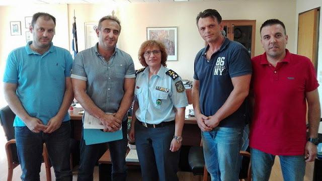 Στην Προϊσταμένη του Επιτελείου του Αρχηγείου της ΕΛ.ΑΣ. τα προβλήματα της Διεύθυνσης Αστυνομίας Ορεστιάδας