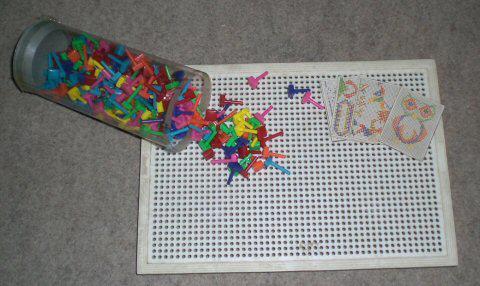 ... dos Puzzles com pregos