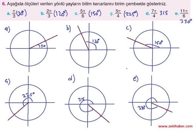 11. Sınıf Top Yayınları Matematik 22. Sayfa Cevapları 1. Ünite