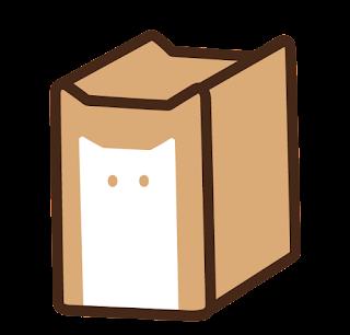 ねこ食パン(一斤)のイラスト