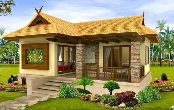 35 beautiful images of simple small house design for Small house design native