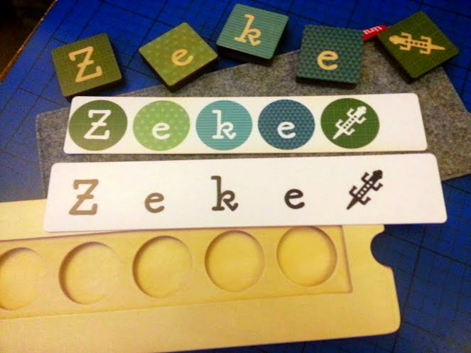 TinyMe Wooden Name Block Puzzles review two inserts