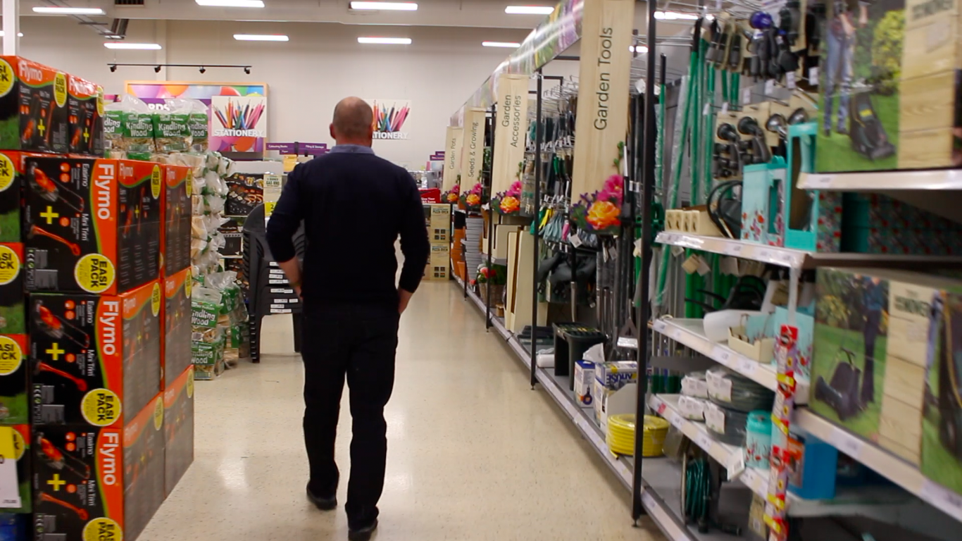 Tesco Tannoy Takeover Fathers Day AD