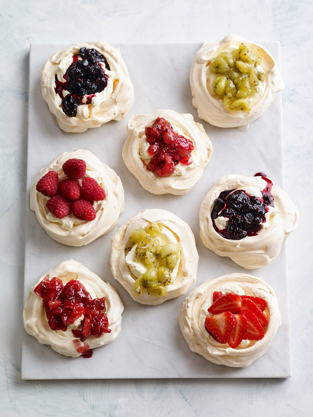 BerryWorld Fruity Meringues