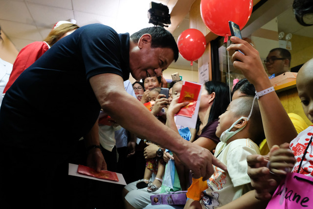 "Duterte's generosity to sick children ""knows no bounds"", says doctor"