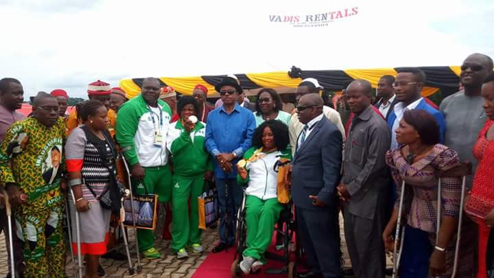 Obiano honors 2016 Paralympics athletes
