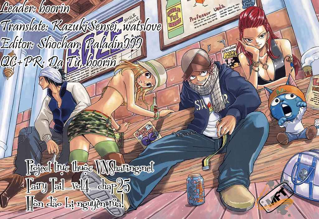 Fairy Tail Chap 25