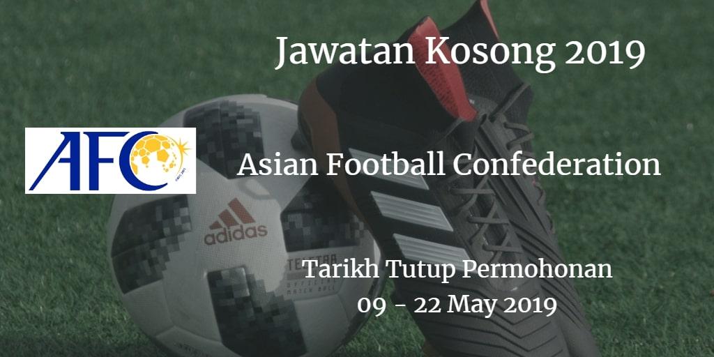 Jawatan Kosong AFC 09 - 22 May 2019