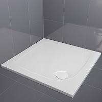 stylish low profile shower tray