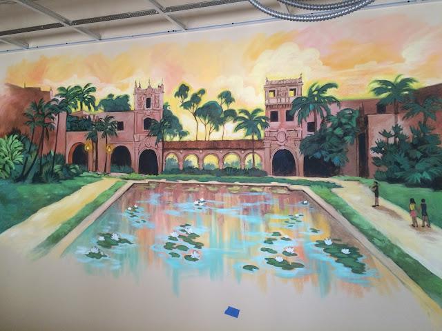 balboa park mural, balboa park san diego, balboa mural, southern california mural