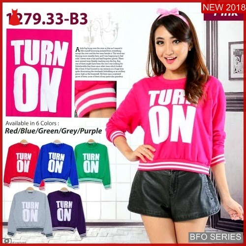 BFO187B64 TURN Model ON SWEATER Jaman Now 1279 BMGShop