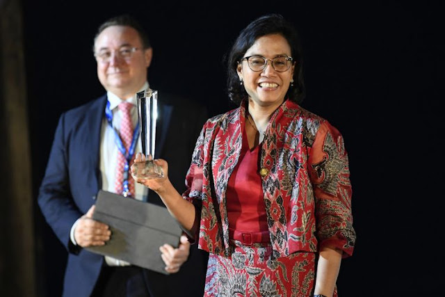 "Sri Mulyani Dinobatkan sebagai ""Finance Minister of the Year East Asia Pacific"""