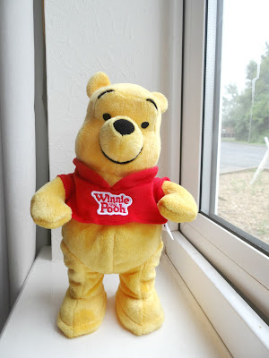 TOMY toys, Winnie the Pooh, Dancing Pooh