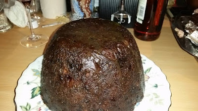 Vanessa and Gill's Instant Pot Pressure Cooker Christmas Pudding