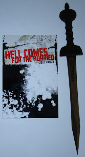 Portada del libro Hell Comes for the Hurried, de Steve Wands