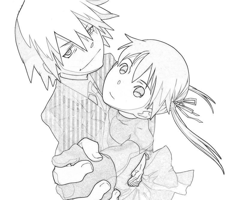 Anime character coloring pages soul eater ~ Soul Eater Soul Eater Cute   Tubing