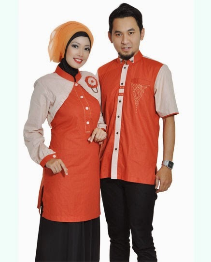 Model Busana Muslim Couple Untuk Pesta