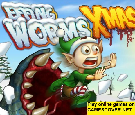 Play Effing Worms XMAS Game