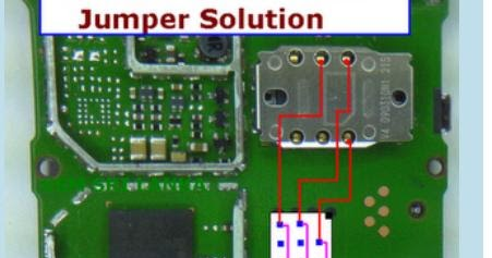 Nokia 1202 SIM IC Problem Jumper Solution | gsmfixer