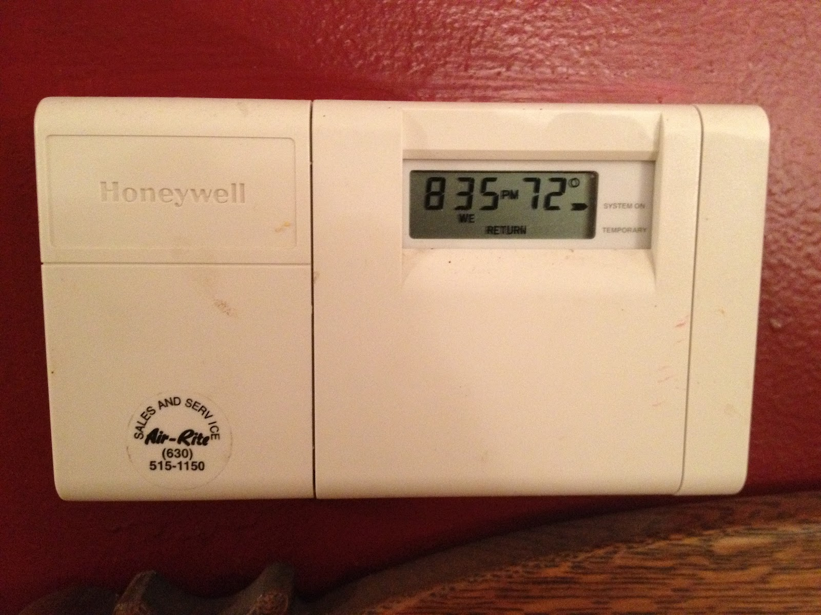 How To Program A Honeywell Thermostat Model T D