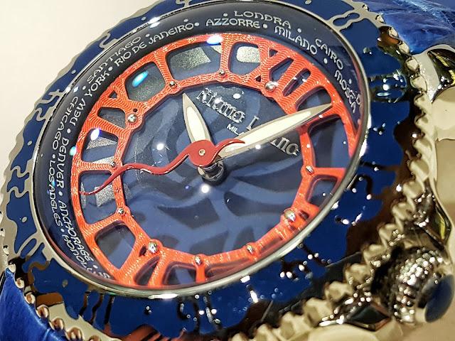 RitmoLatino MILANO リトモラティーノ ファッション 時計 腕時計 イタリア 人気 旅 海 海洋生物 クラゲ プレゼント 女性 ビタミンカラー ミラノ ワニ革 アリゲーター Viaggo ビアッジョ VA-54SS