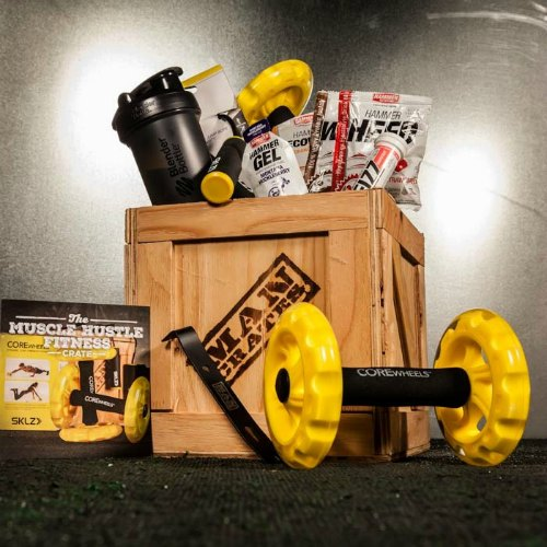 man crates, mens gifts, work out gift