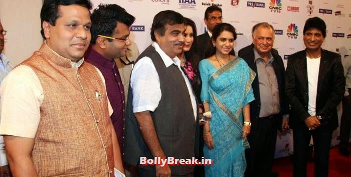 Nitin Gadkari, Shaina NC, Raju Srivastav, International Indian Achiever's Awards Photo Gallery