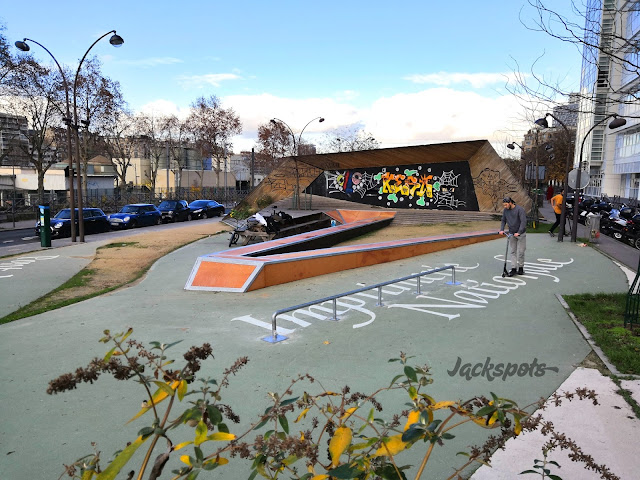 skatepark javel paris 15