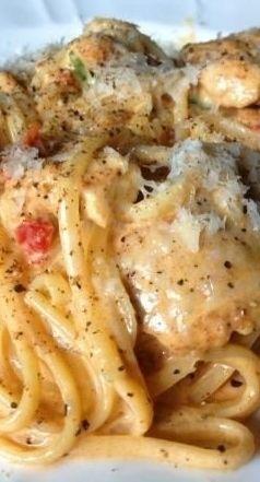 CREAMY CAJUN CHICKEN PASTA #creamy #cajun #chicken #chickenrecipes #pasta #pastarecipes #easypastarecipes