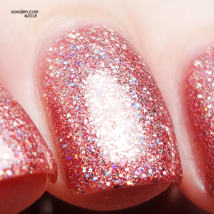 xoxoJen's swatch of Glam Polish I Lava You!