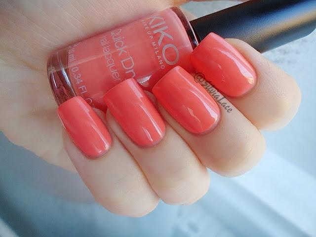 Kiko Quick Dry Nail Lacquer - 804 Coral