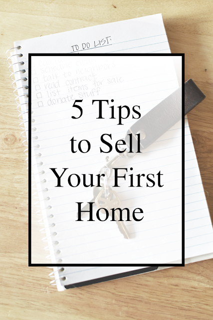 five tips to sell your first home buyers sellers realtors realty fixer upper how to selling buying sell buy home real estate market