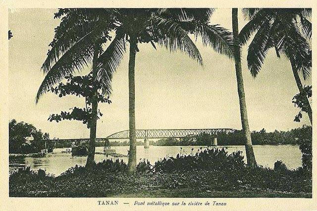 Cầu Tân An (địa phận TP Tân An, tỉnh Long An ngày nay), một trong hai cây cầu đường sắt quan trong (cầu kia là Bến Lức) của tuyến đường sắt Sài Gòn - Mỹ Tho.