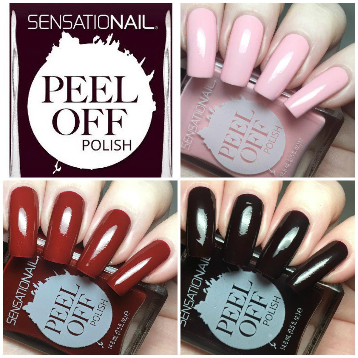 A Certain Becca Nails: SensatioNail Peel Off Nail Polishes