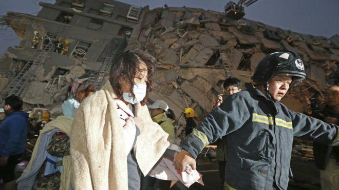 Gempa bumi menimpa Taiwan, Berkekuatan 6,4 skala Richter tiga orang tewas insiden ini