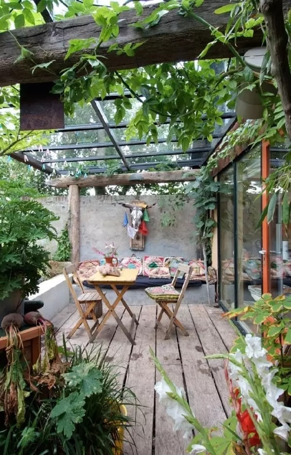 11 Ideas About Boho Chic Terraces - Very Cozy To Enjoy With Your Family 9