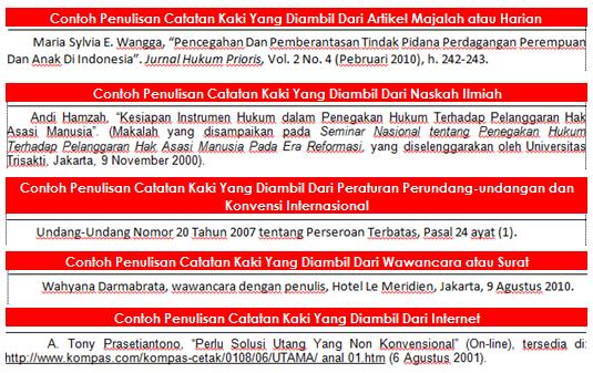 Contoh Catatan Kaki Artikel Dari Internet Feed News Indonesia