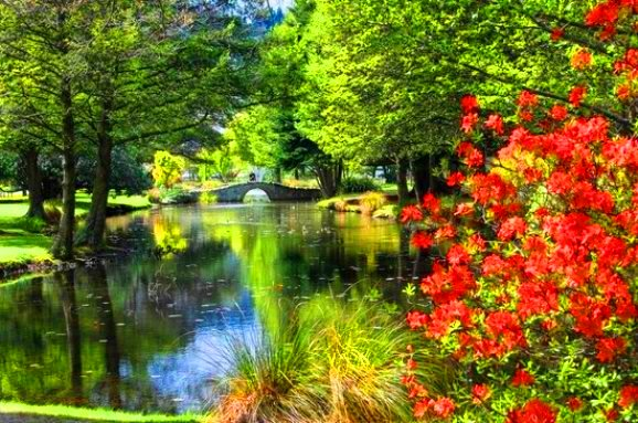Queenstown Gardens Tempat menarik di new zealand