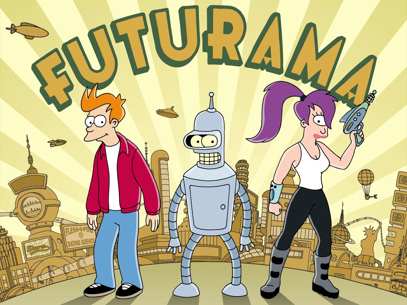 Futurama serie español latino todas las temporadas