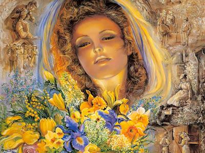 La pintura surrealista de Josephine Wall.