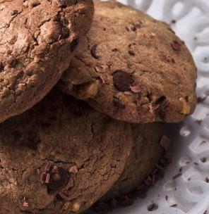 Imagem da receita fácil de cookie de chocolate
