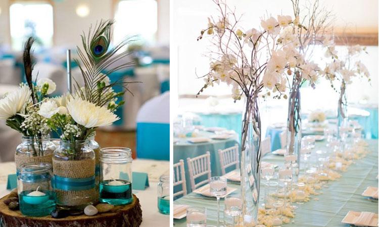 Marzua Decoracin de bodas Arreglos florales para